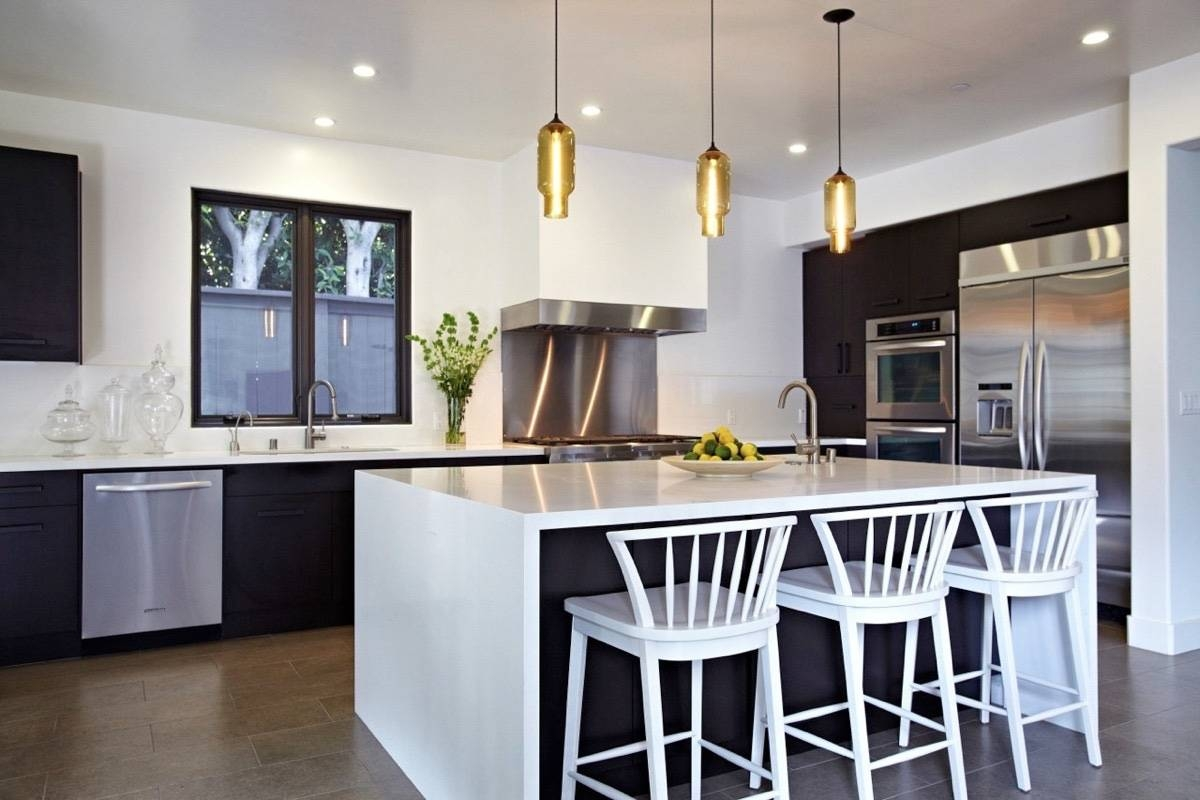 How To Select The Correct Pendant Lights For Kitchen - Wonk Lighting with Island Pendant Lights (Image 7 of 15)