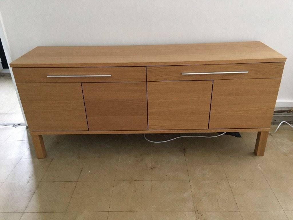 Ikea Bjursta Sideboard, Oak Veneer | In Chester, Cheshire | Gumtree intended for Ikea Bjursta Sideboards (Image 9 of 15)