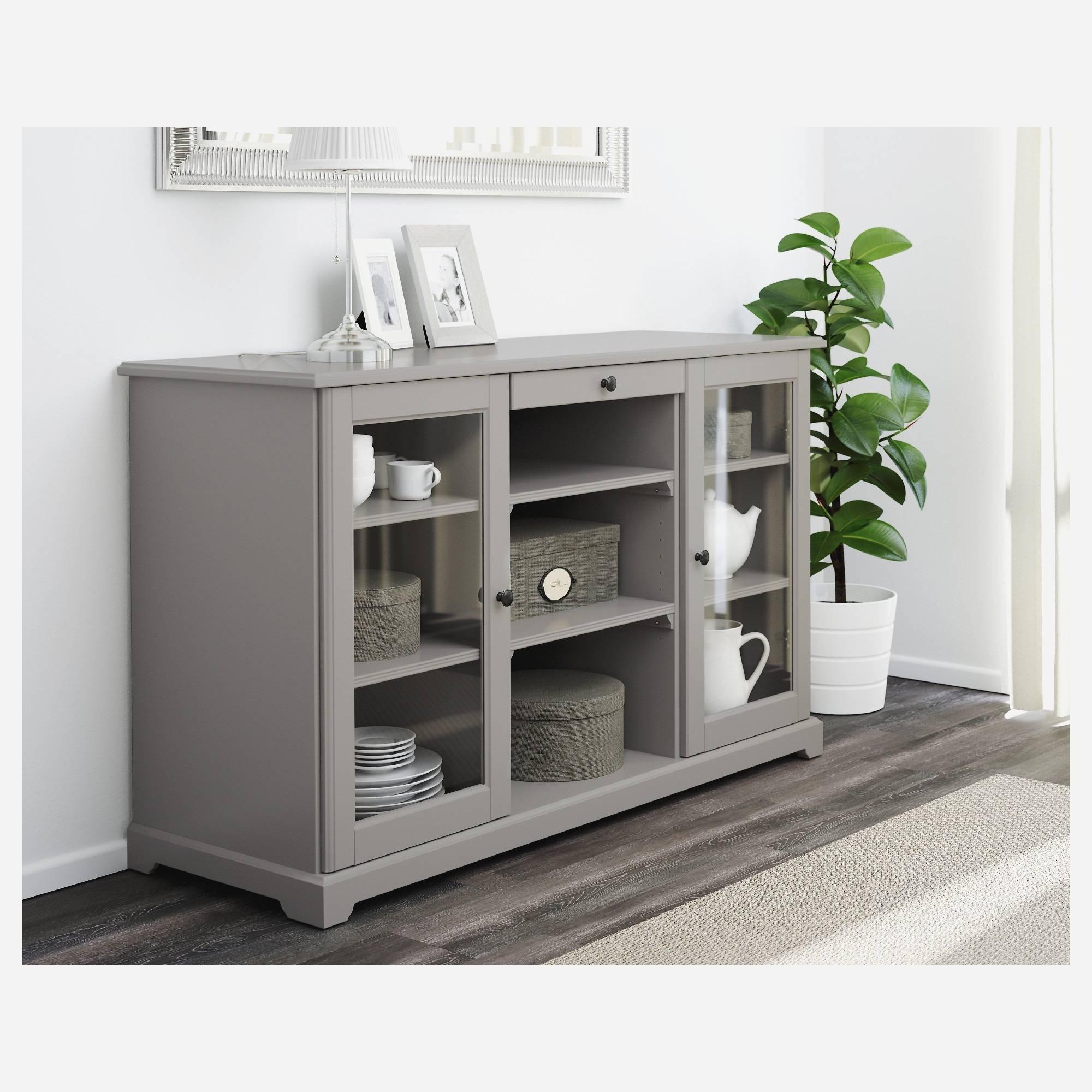 Ikea Buffets. Cheap Image Of Buffet Cabinet Ikea For Kitchen With with regard to Liatorp Sideboards (Image 3 of 15)