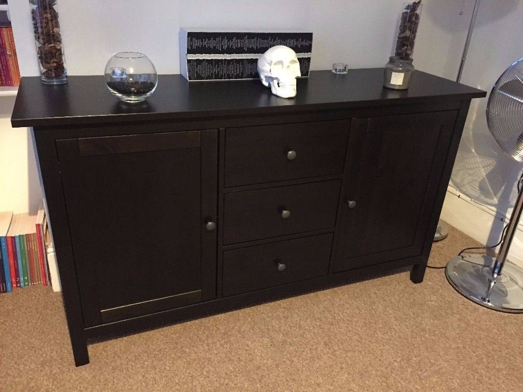 Ikea Hemnes Sideboard Black/brown | In Woodford, London | Gumtree intended for Ikea Hemnes Sideboards (Image 9 of 15)