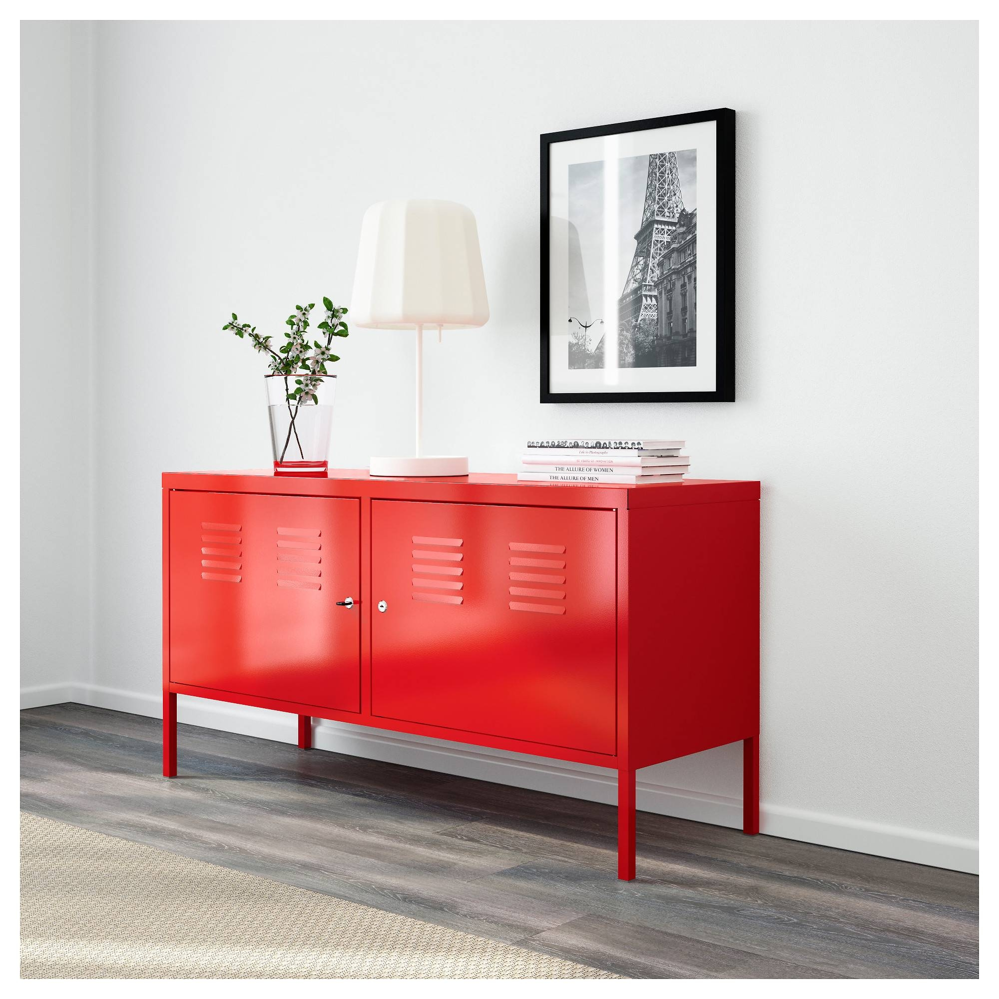 Ikea Ps Cabinet Red 119X63 Cm - Ikea for Ikea Red Sideboards (Image 6 of 15)