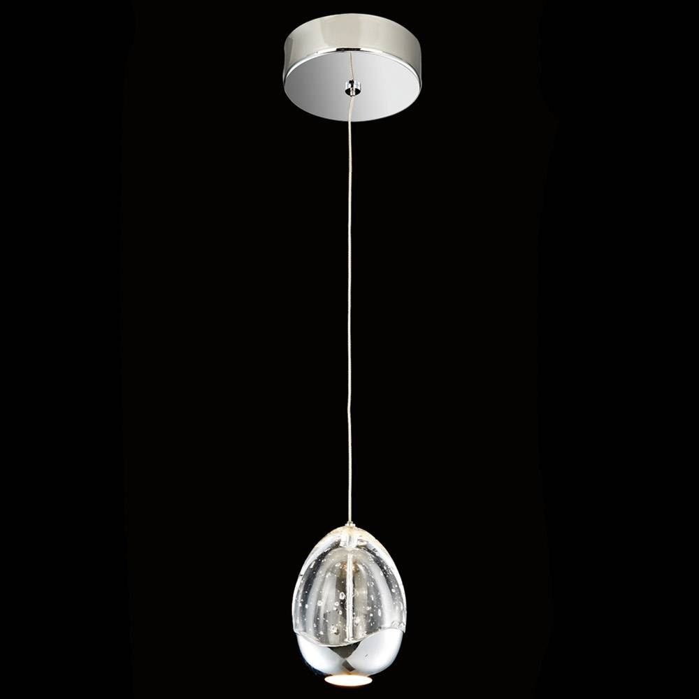 Illuminati Terrene Led Bubble Glass Pendant – Lighting Your Home Within Glass Bubble Pendant Lights (View 9 of 15)