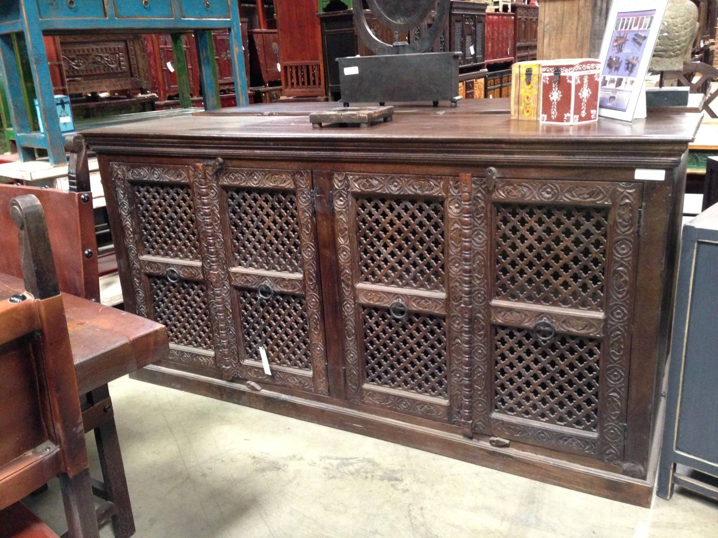 Imported Rustic Sideboards From India, China, Indonesia And Mexico for Indian Sideboard Furniture (Image 7 of 15)