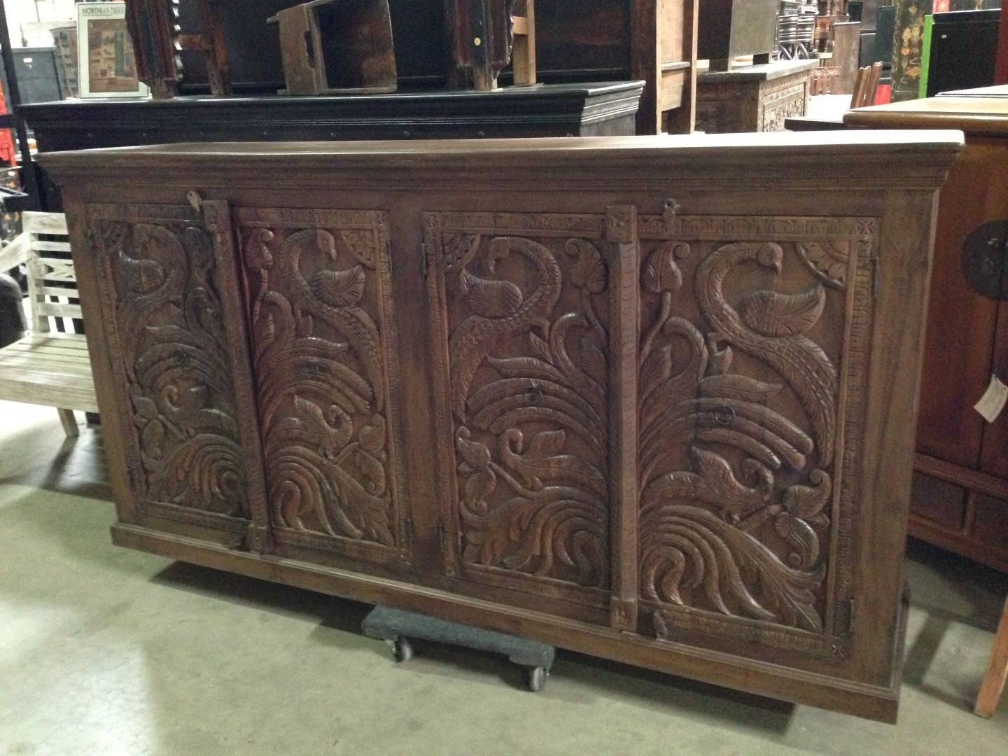 Imported Rustic Sideboards From India, China, Indonesia And Mexico with Indian Sideboard Furniture (Image 8 of 15)