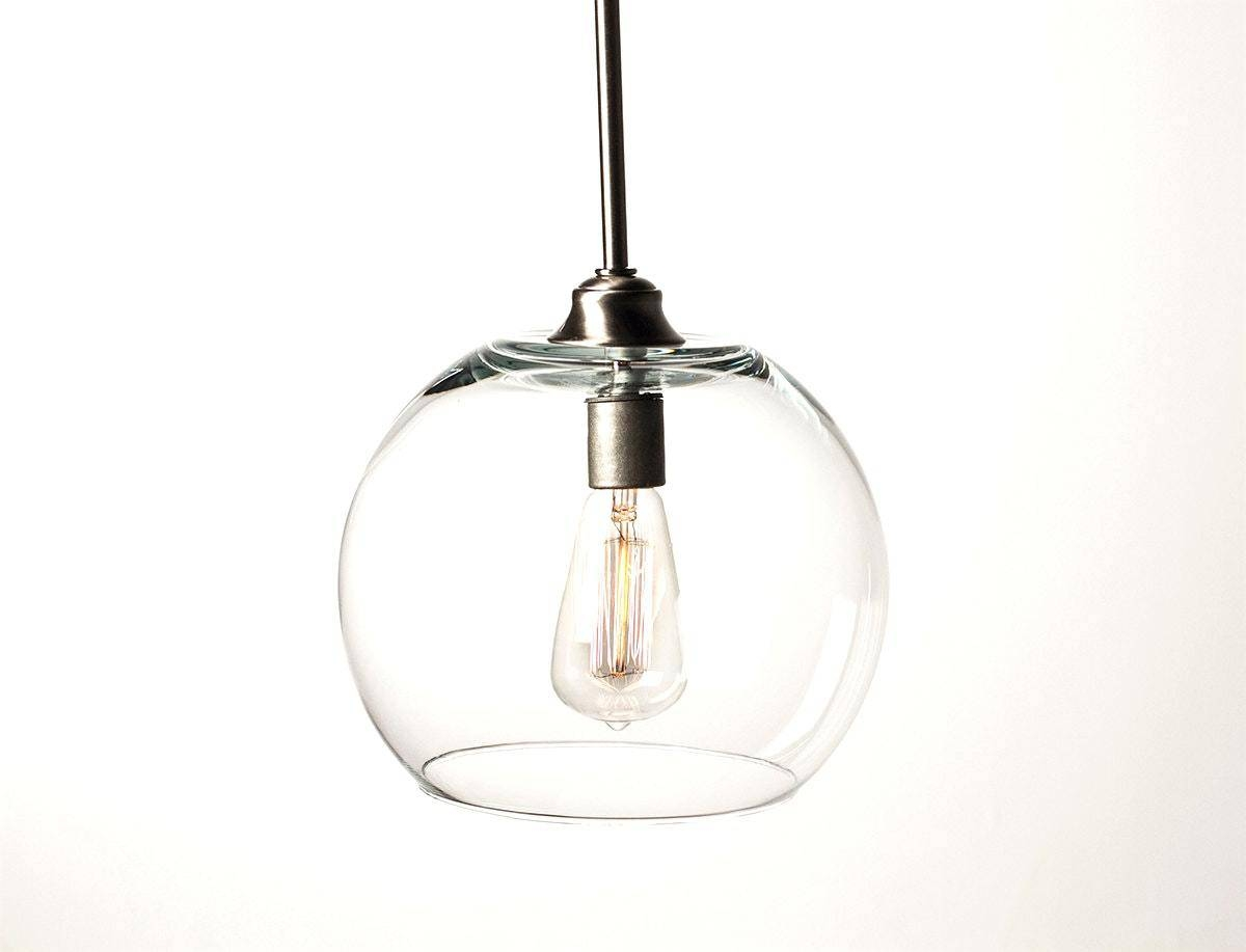 15 Best Collection Of Glass Bowl Pendant Lights