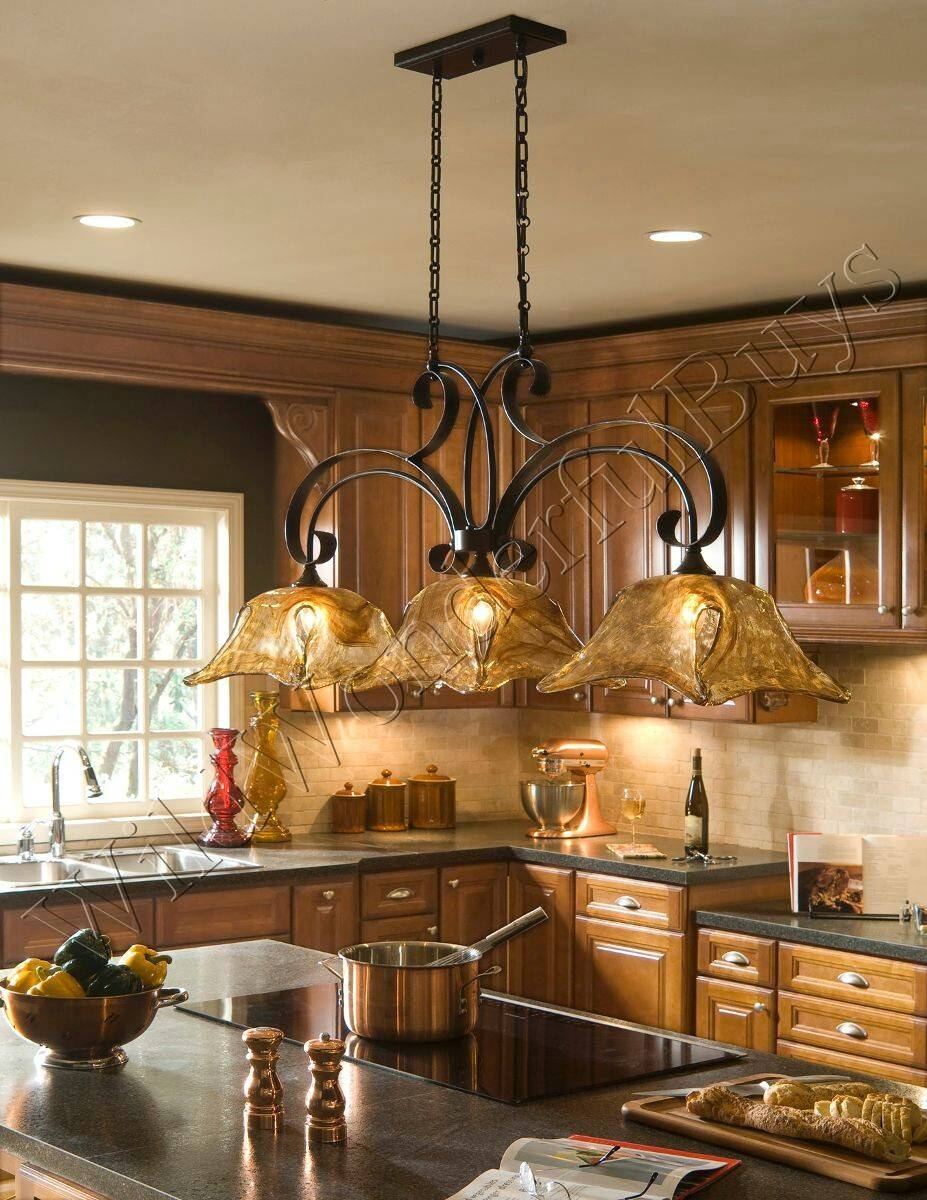 Kitchen : 3 Light Kitchen Island Pendant Best Home Design Fresh In For 3 Light Pendants For Island Kitchen Lighting (View 6 of 15)