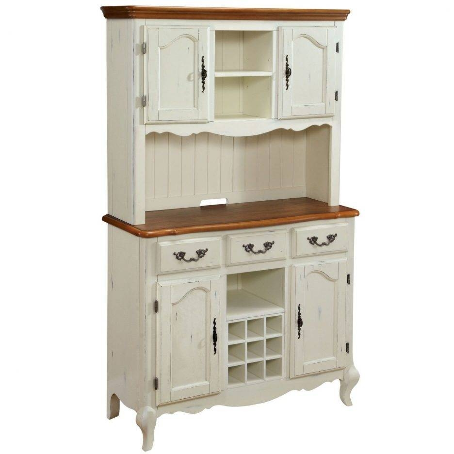 Kitchen : Adorable Country Hutch Large Kitchen Hutch White Throughout Kitchen Hutch And Sideboards (View 10 of 15)