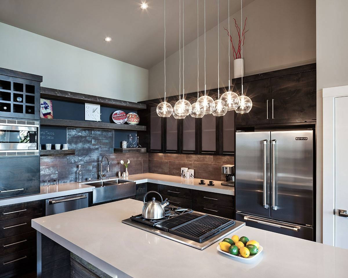 Kitchen : Breakfast Bar Pendant Lights Island Pendants Kitchen With Regard To Pendant Lights For Island (View 15 of 15)