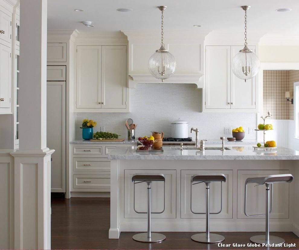 Kitchen Design : Excellent Perfect Fresh Globe Glass Pendant Light Regarding Glass Kitchen Pendant Lights (View 7 of 15)