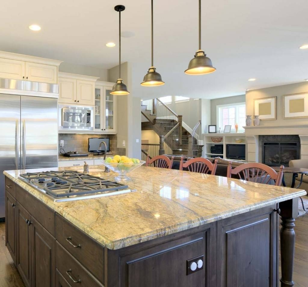 Kitchen Island Single Pendant Lighting: 15 Best Collection Of Pendant Lighting Over Island