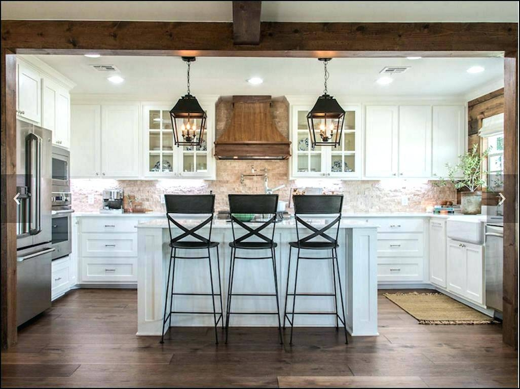 Kitchen Island: Industrial Kitchen Island Lighting. Industrial Intended For Farmhouse Style Pendant Lighting (Photo 14 of 15)