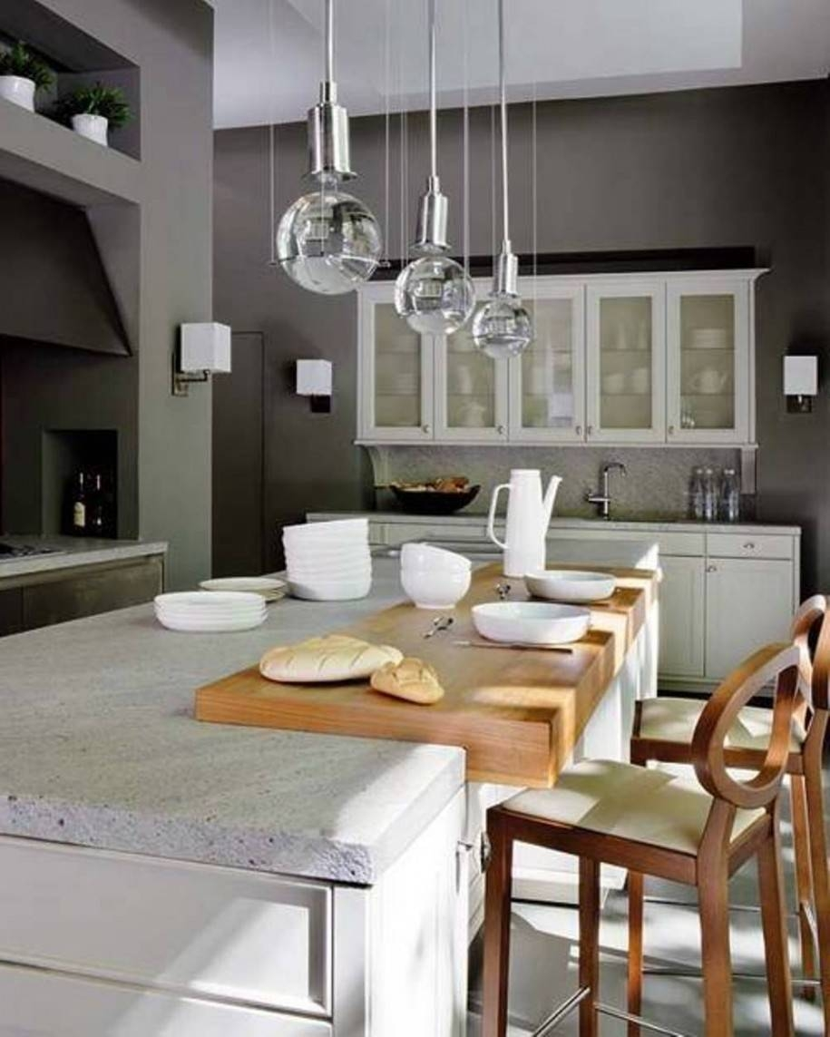 Kitchen Island Pendant Lighting Hanging Lights For Islands Large Within Pendant Lighting For Island (Photo 9 of 15)