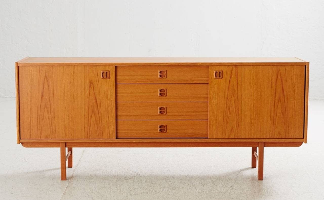 Korsör Teak Sideboard From Ikea, 1960S For Sale At Pamono Pertaining To Ikea Sideboards (Photo 5 of 15)