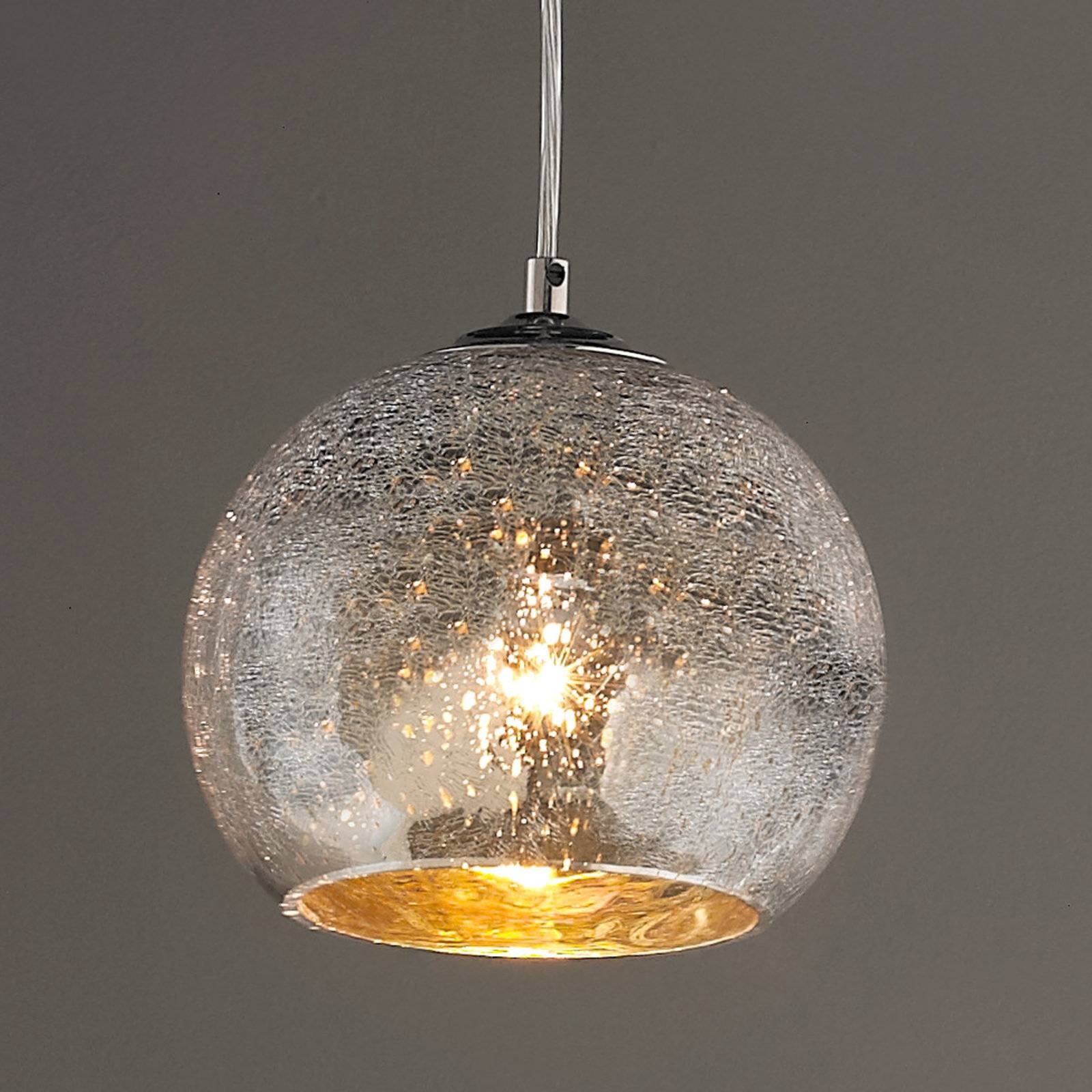 Lamp : Pendant Light Linear Pendant Lighting Bubble Glass Pendant with regard to Mercury Glass Pendant Light Fixtures (Image 7 of 15)
