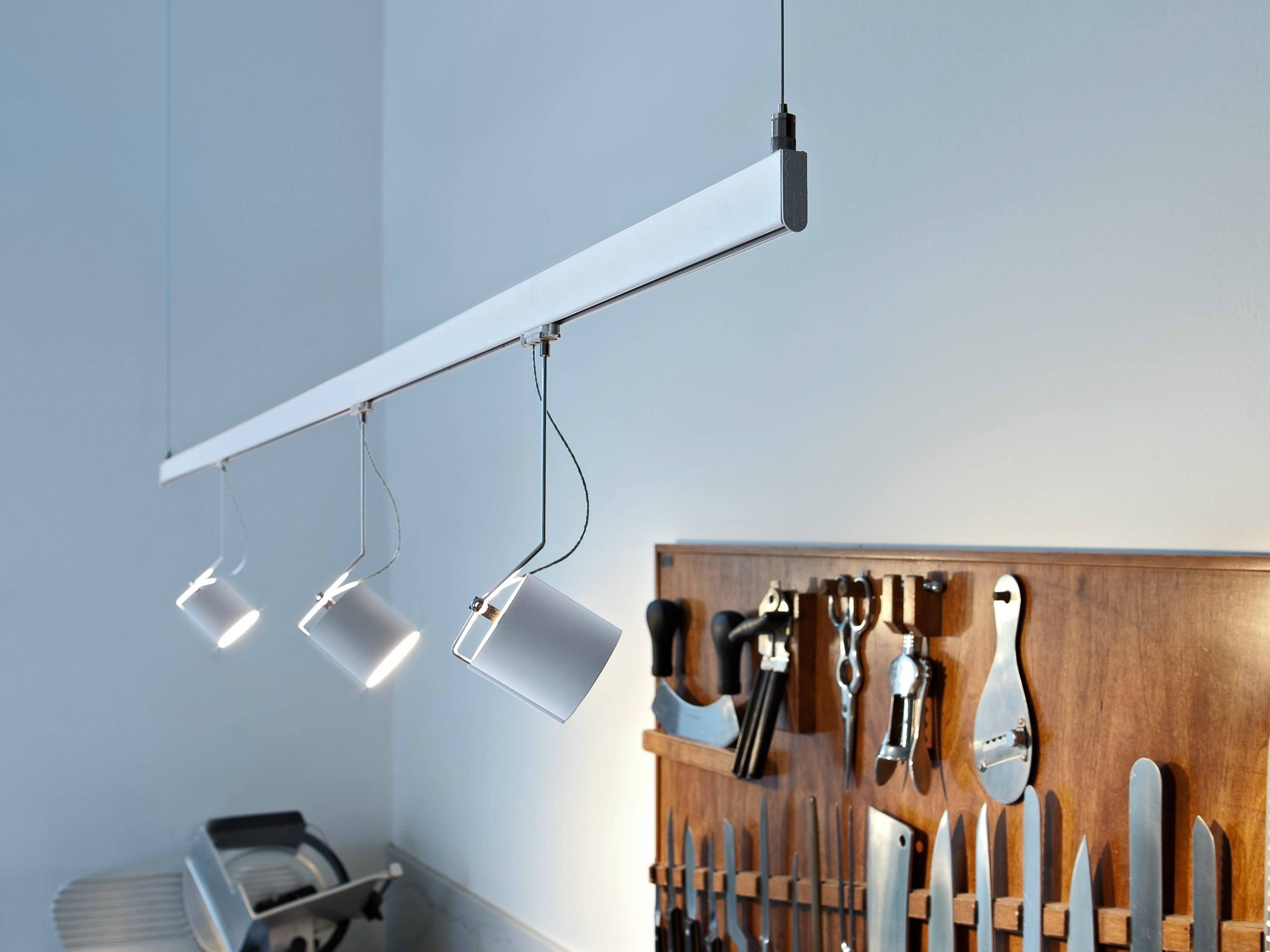 Lamp : Track Lighting With Pendants And Spots Modern Kitchen within Pendant Lighting For Track Systems (Image 7 of 15)