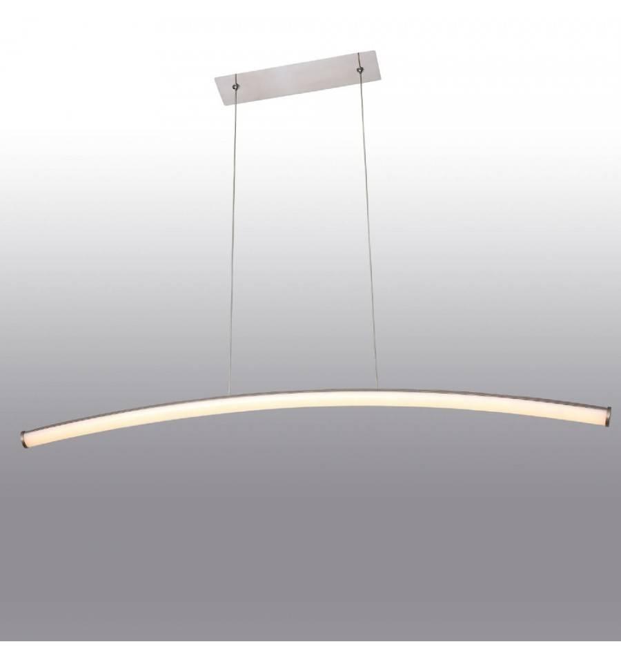 """Led Pendant Light   Design Long Bar """"navy"""" – Kosilight Inside Long Pendant Lighting (View 14 of 15)"""