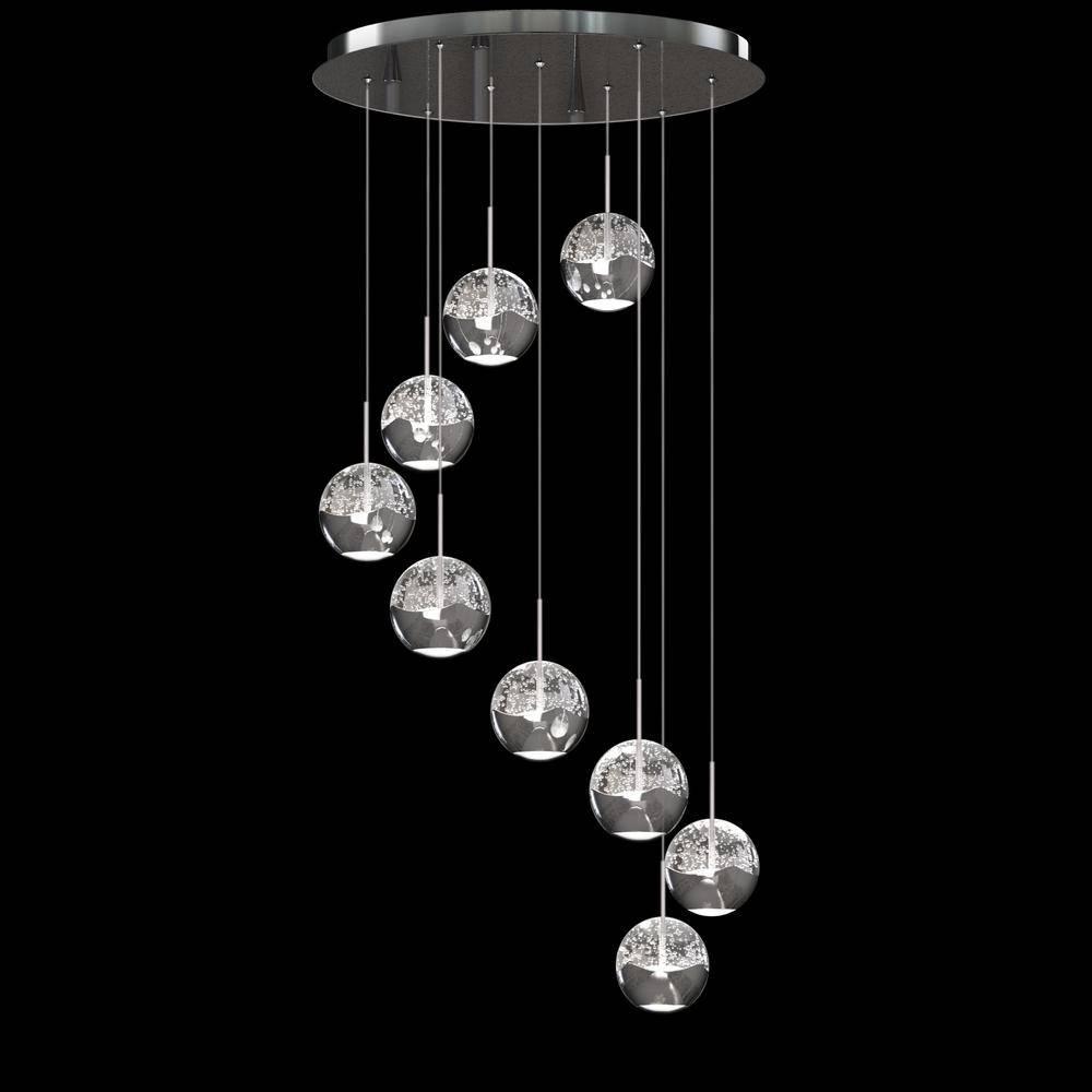 Led Pendant Light Fixture – Lighting | Artika Intended For Bubble Pendant Light Fixtures (View 5 of 15)