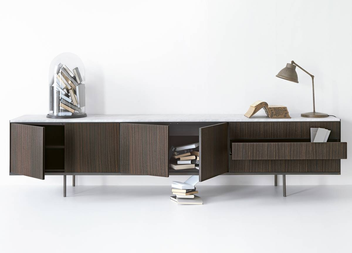 Lema Long Island Sideboard – Lema Mobili Italy At Go Modern With Regard To Long Sideboards (View 4 of 15)