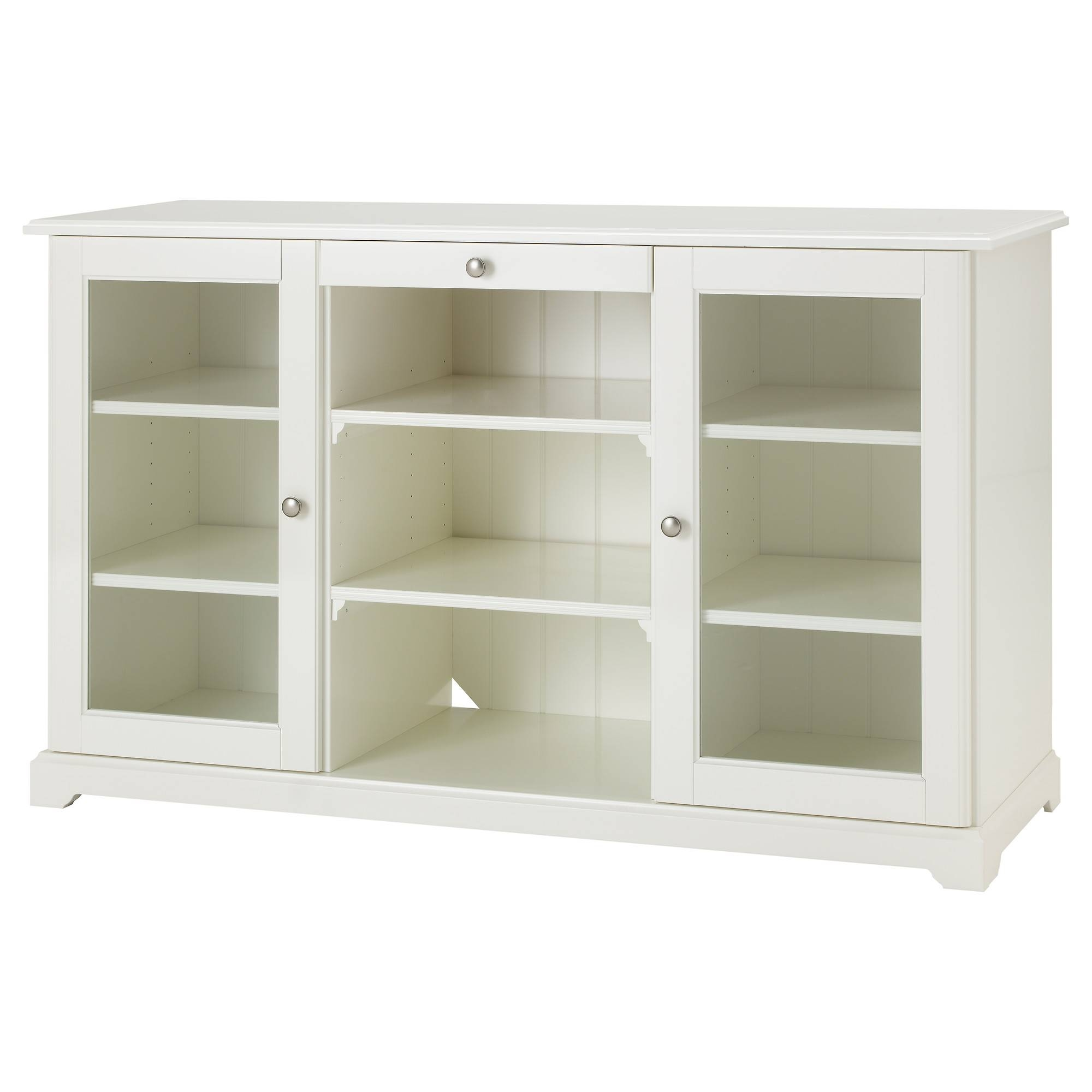 Liatorp Sideboard - White - Ikea with regard to Glass Door Buffet Sideboards (Image 11 of 15)