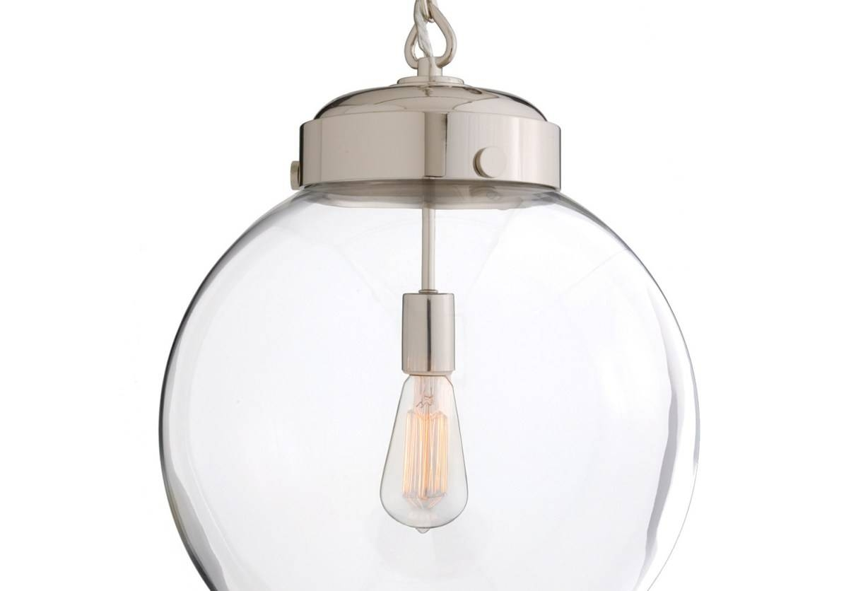 Lighting : New Large Clear Glass Pendant Light 67 With Additional Within Glass Bowl Pendant Lights (View 10 of 15)