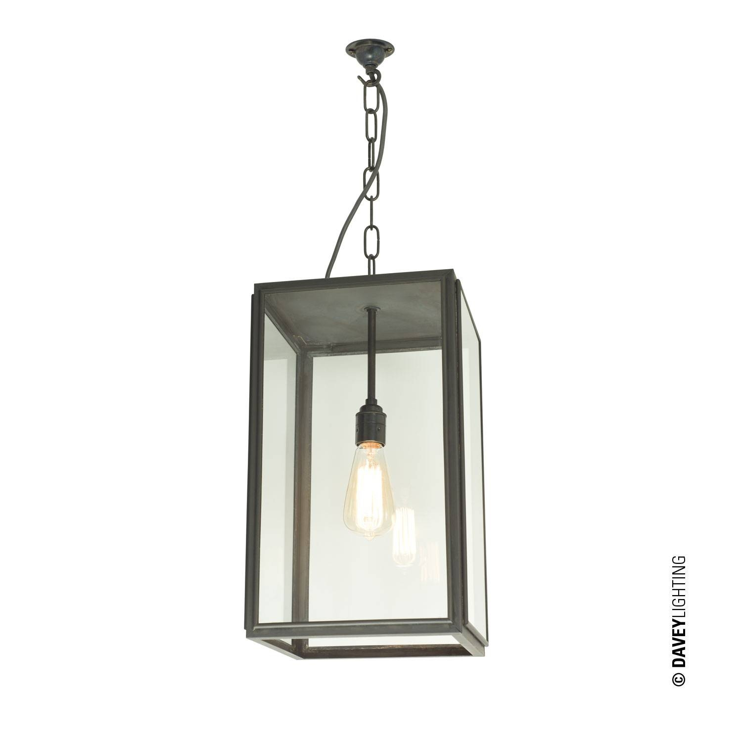 Lighting Quad Square Pendant Light External Glass Closed Top intended for Square Pendant Light Fixtures (Image 11 of 15)