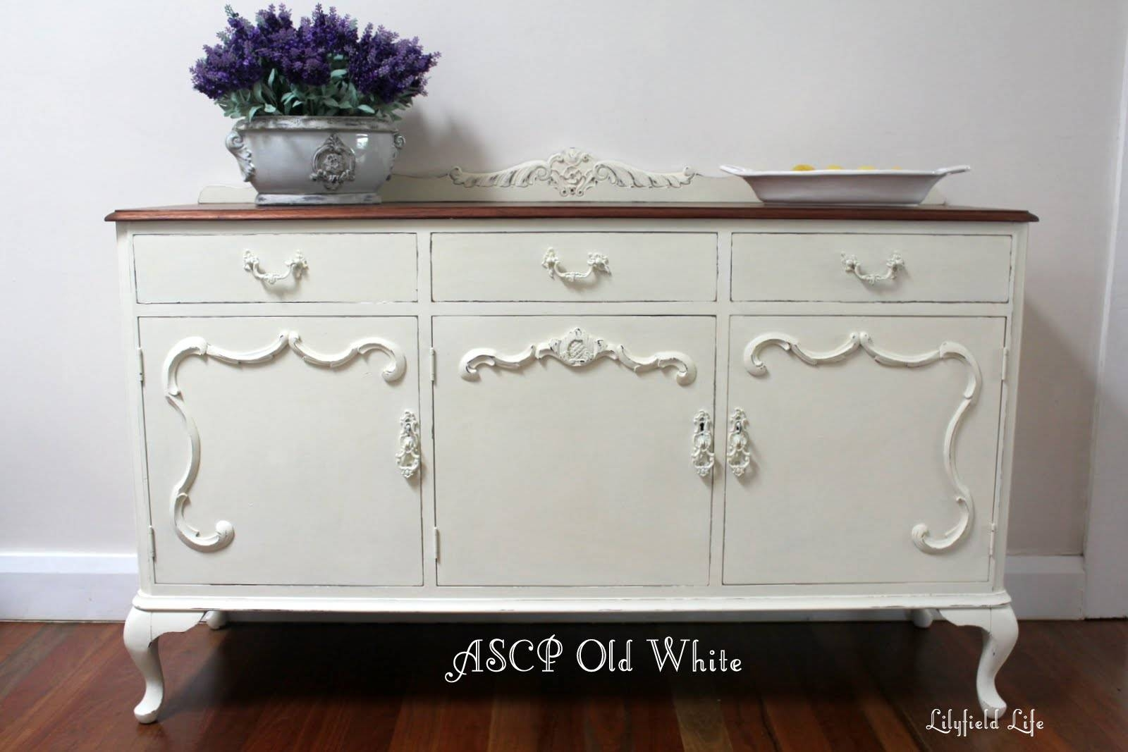 Lilyfield Life: Mix Tint Colour Annie Sloan Chalk Paint For Annie Sloan Painted Sideboards (View 12 of 15)