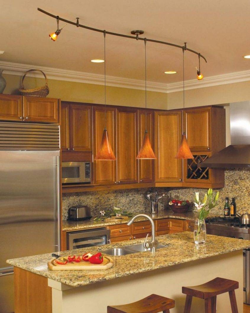 Lovely Pendant Track Lighting For Kitchen About Remodel Outdoor Regarding Kitchen Track Pendant Lighting (View 2 of 15)