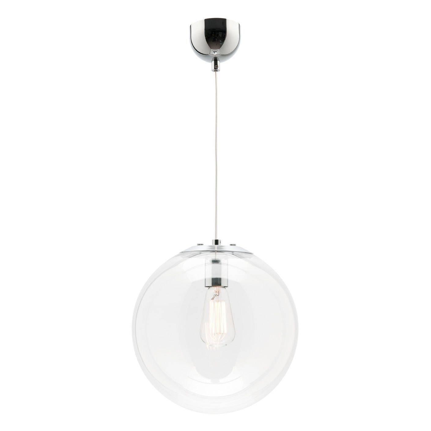 Lovely Round Glass Pendant Light For Ceiling Chandelier With for Round Glass Pendant Lights (Image 11 of 15)