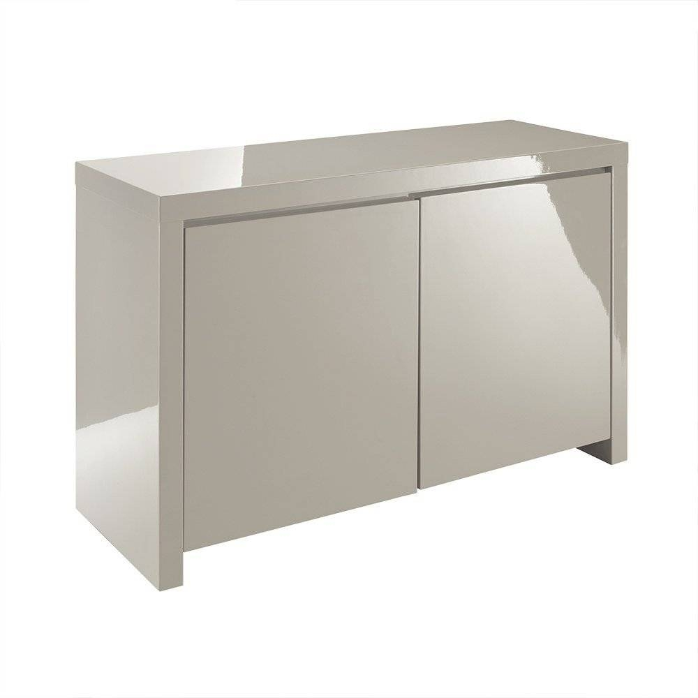 Lpd Furniture | Puro Stone High Gloss Sideboard | Leader Stores for Uk Gloss Sideboards (Image 5 of 15)