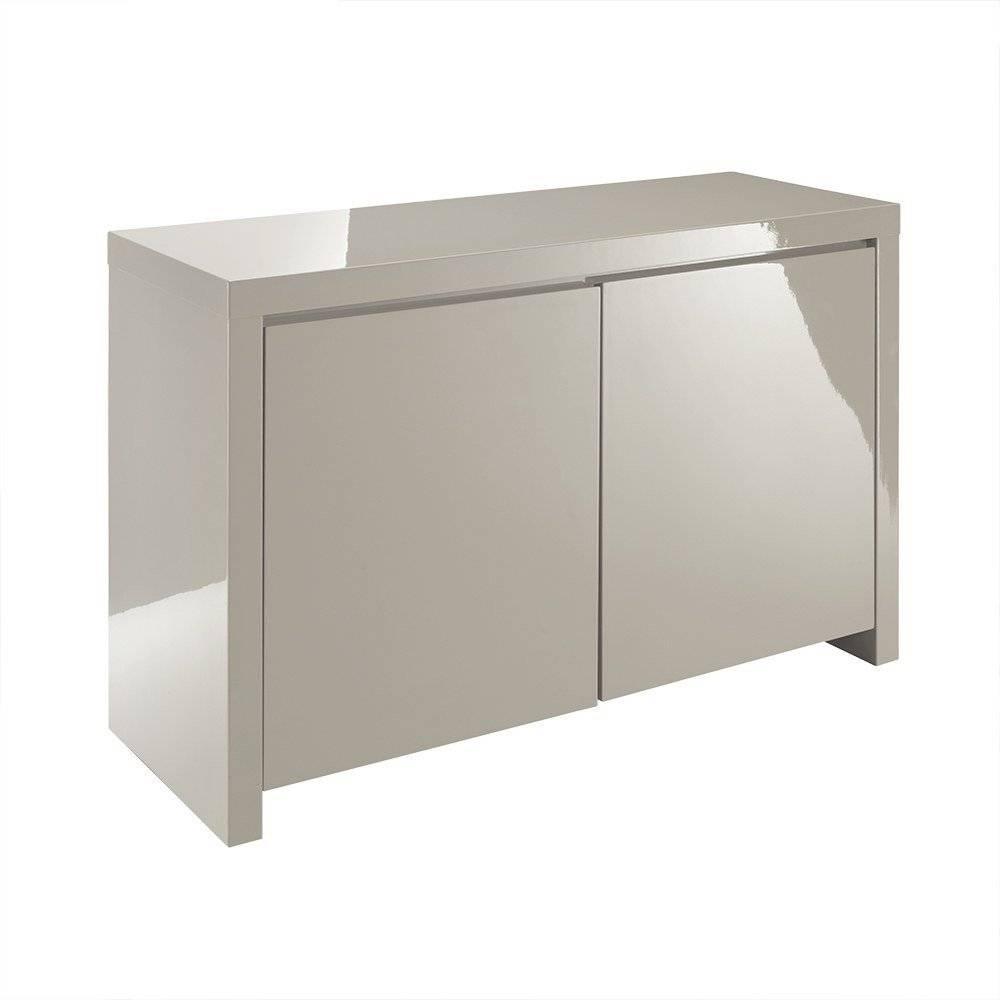 Lpd Furniture | Puro Stone High Gloss Sideboard | Leader Stores inside Gloss Sideboard Furniture (Image 8 of 15)