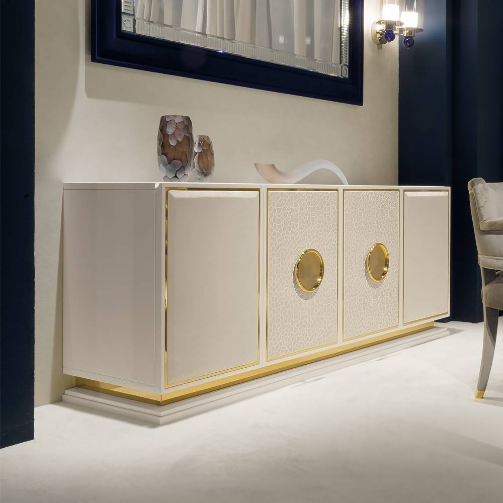 Luxury Buffets & Sideboards – Exclusive High End Designer With Regard To Gold Sideboards (View 7 of 15)