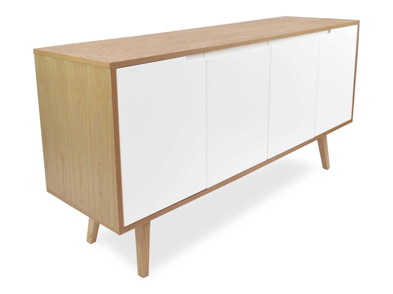 Marc Scandinavian Sideboard Buffet Unit – Natural | Interior Secrets Regarding Scandinavian Sideboards (View 2 of 15)