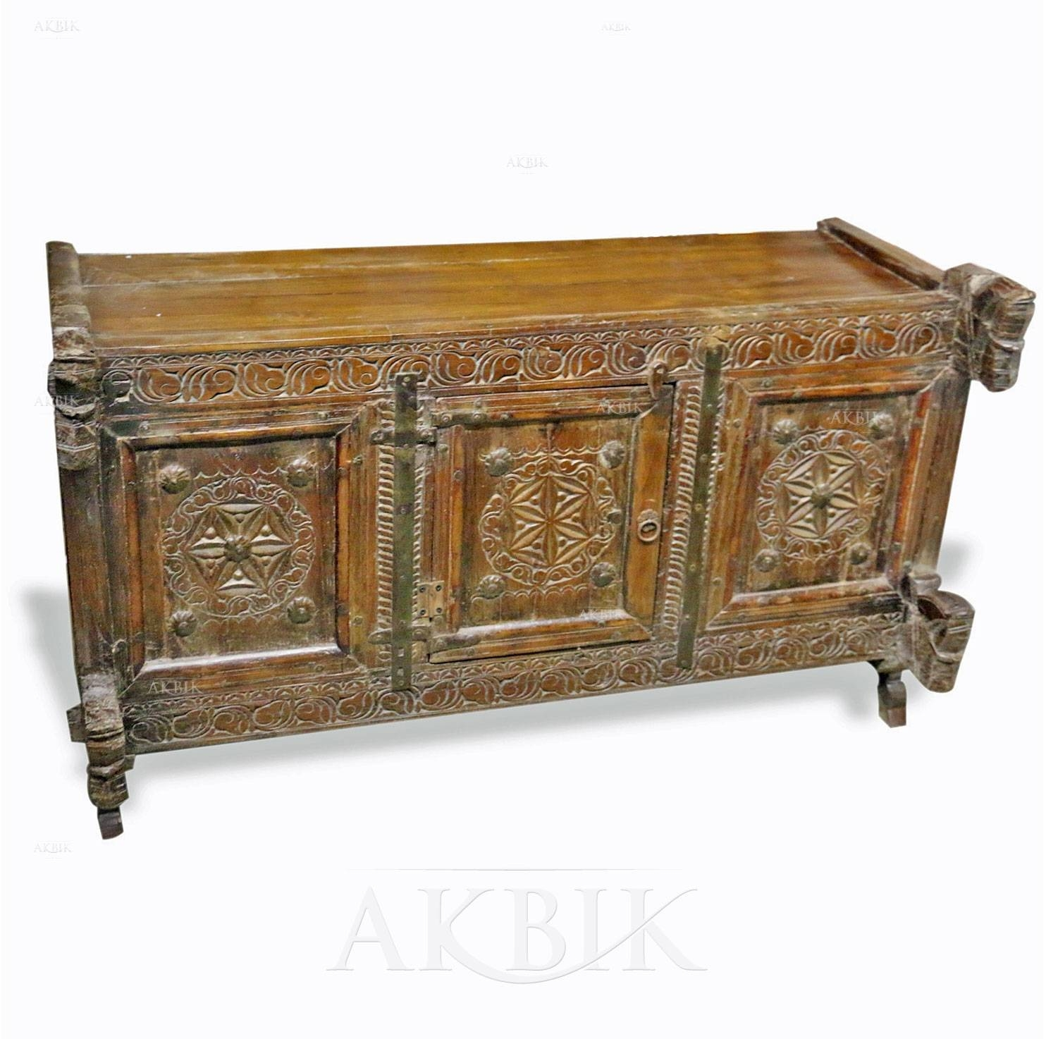 Mediterranean, Levantine & Syrian Furniture Inlaid With Mother Of intended for Indian Sideboard Furniture (Image 11 of 15)