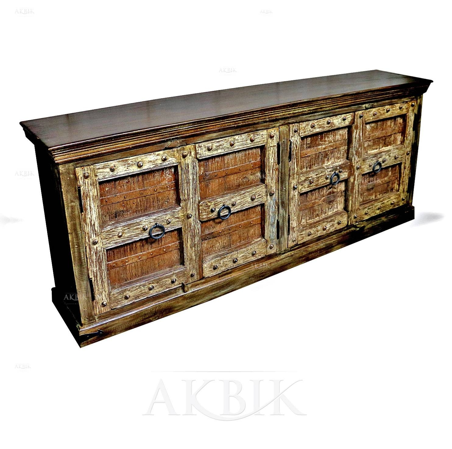 Mediterranean, Levantine & Syrian Furniture Inlaid With Mother Of with regard to Indian Sideboard Furniture (Image 12 of 15)