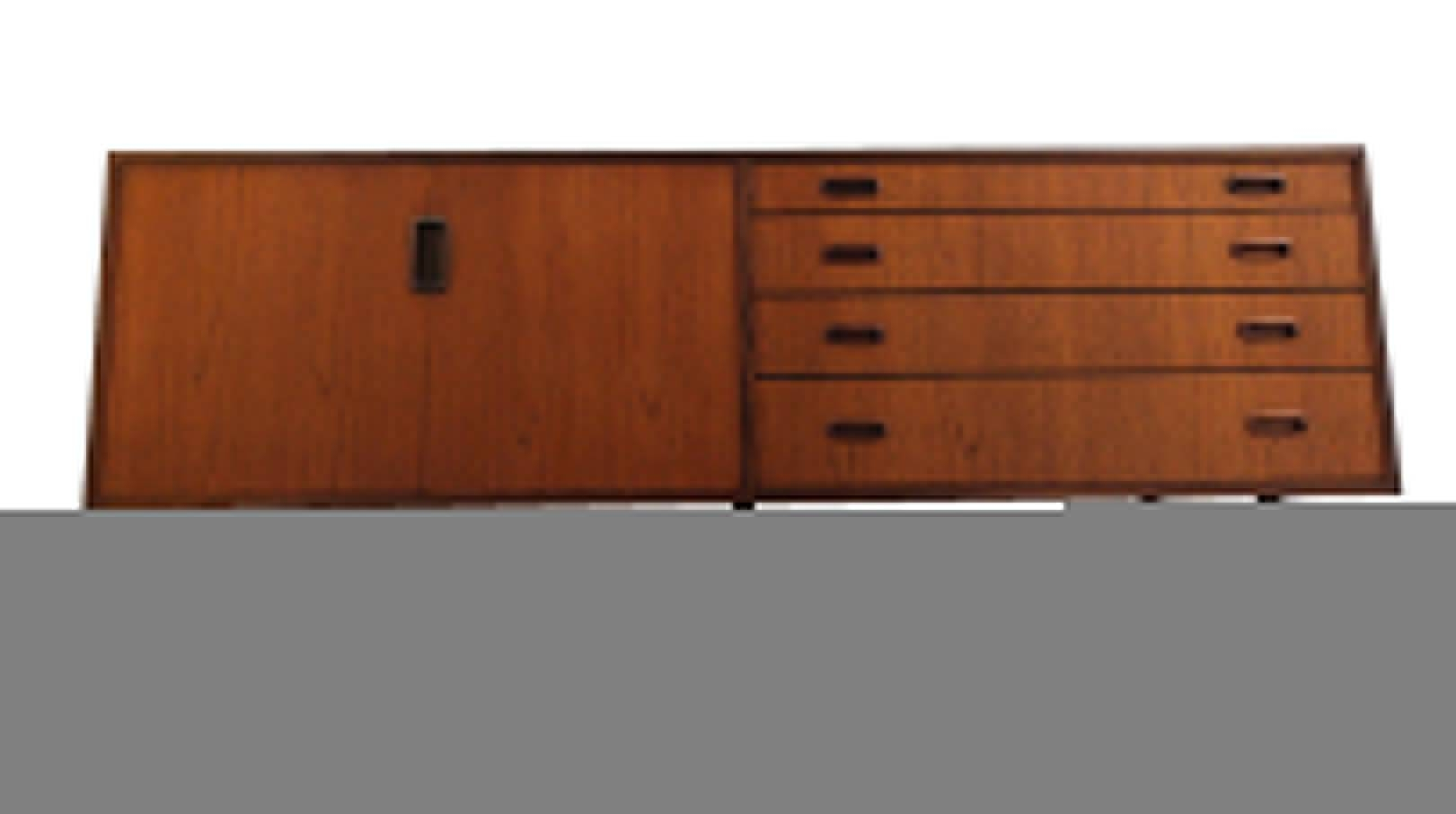 Mid-Century British Teak Credenza Sideboardgrange London inside Credenza Sideboards (Image 11 of 15)