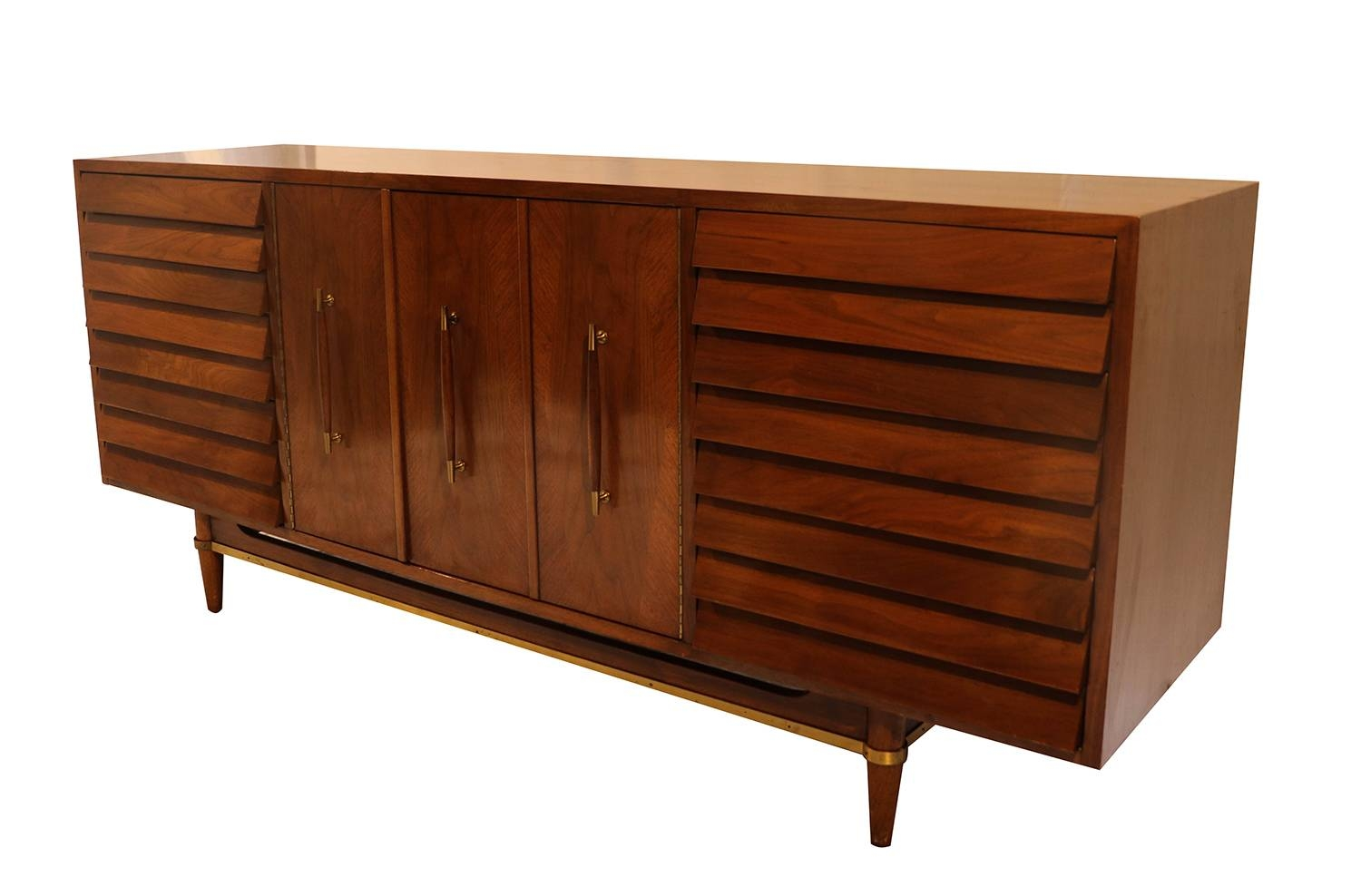 Mid Century Modern American Of Martinsville Dania Collection with Dania Sideboards (Image 1 of 15)