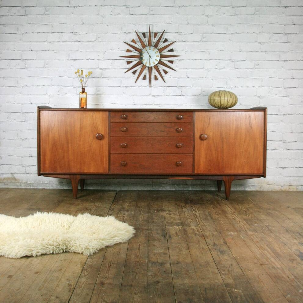 Mid Century Modern Sideboard Furniture : Fascinating Mid Century Regarding Mid Century Modern Sideboards (View 6 of 15)