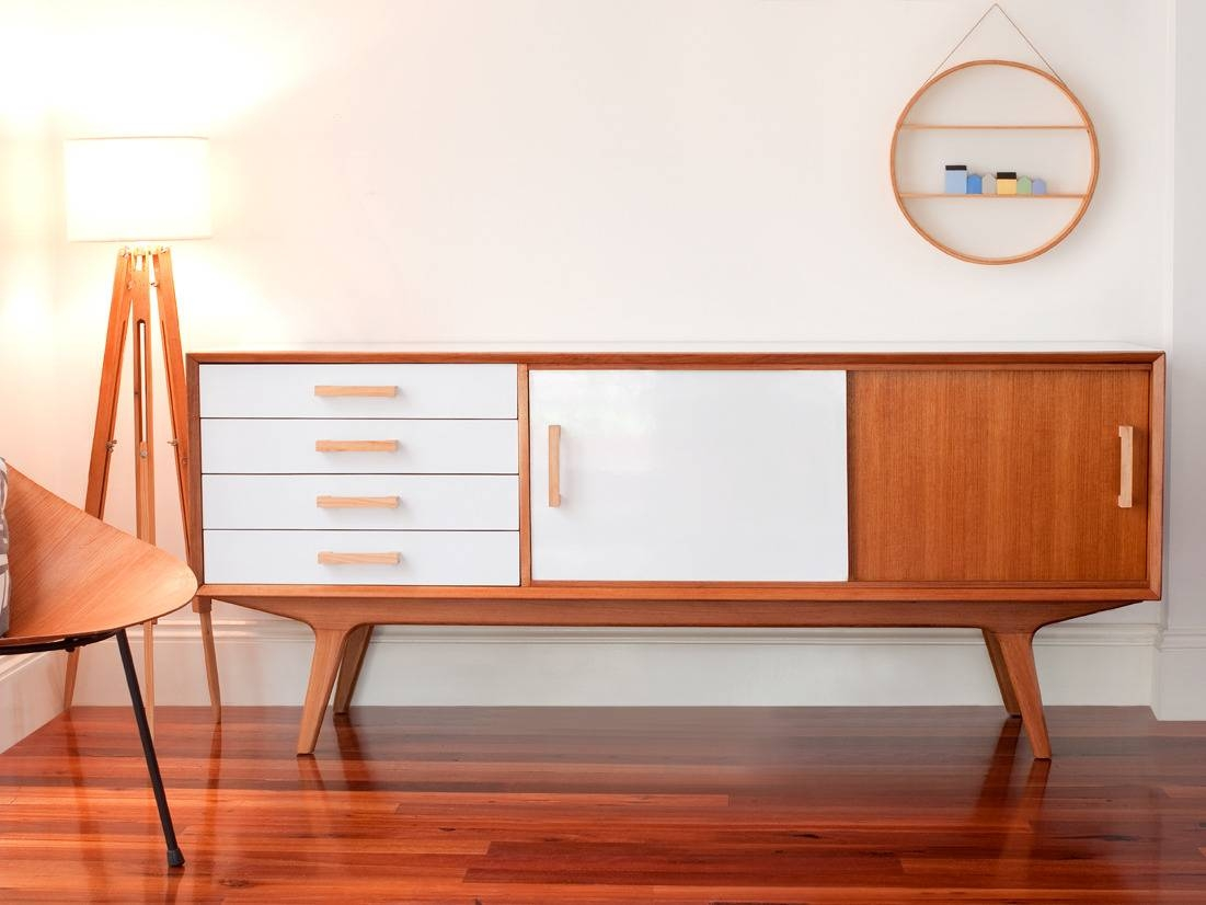 Mid Century Modern Sideboard White : Fascinating Mid Century pertaining to Midcentury Sideboards (Image 8 of 15)