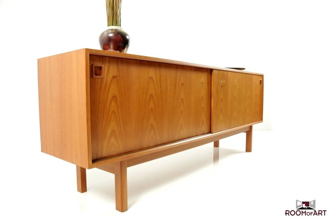 Mid Century Teak Sideboardomann Junior | Modernism with Mid Century Sideboards (Image 9 of 15)