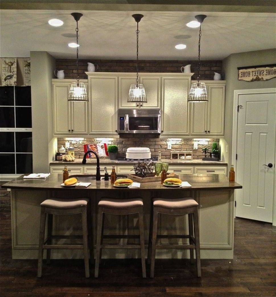 Mini Pendant Lights For Kitchen Island Nickel Mini Pendant Lights Intended For Rustic Pendant Lighting For Kitchen (View 8 of 15)