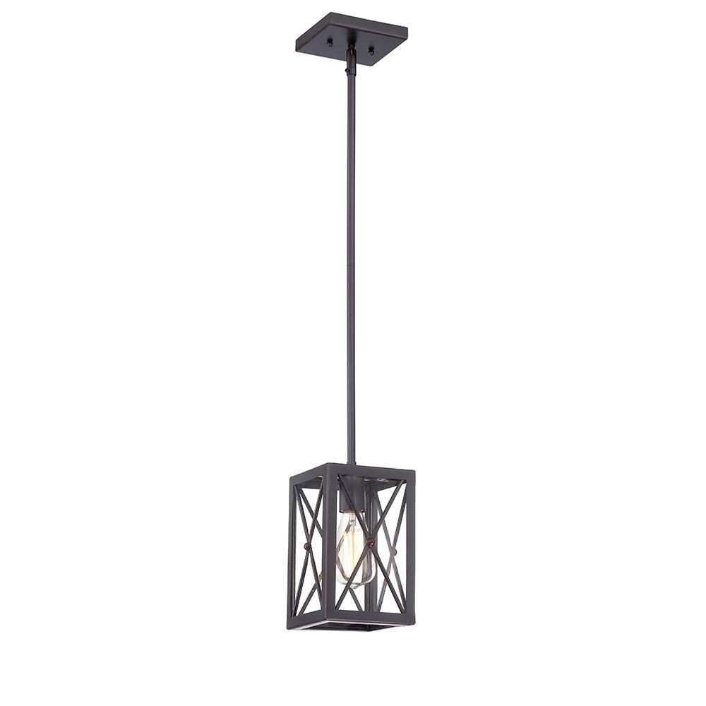 Mini – Pendant Lights – Lighting – The Home Depot Regarding Mini Pendant Lights (View 9 of 15)