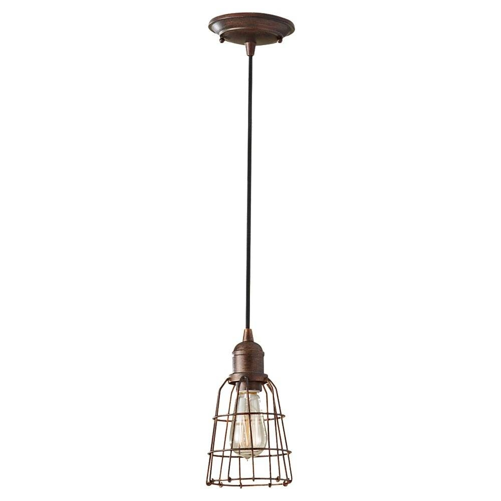 Minimalist Cage Pendant Light Ideas — All About Home Design : Cage pertaining to Bronze Cage Pendant Lights (Image 11 of 15)