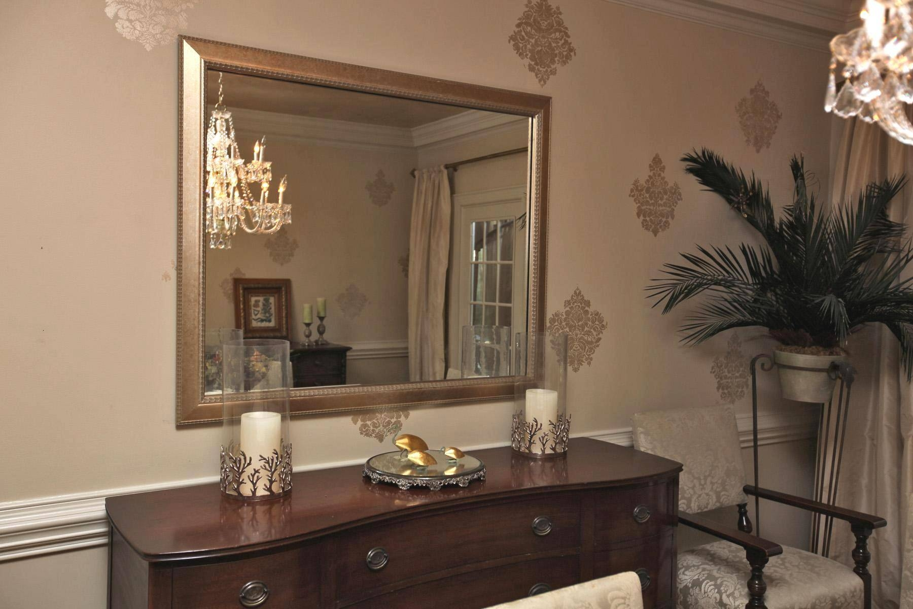 Featured Photo of Mirror Over Sideboards