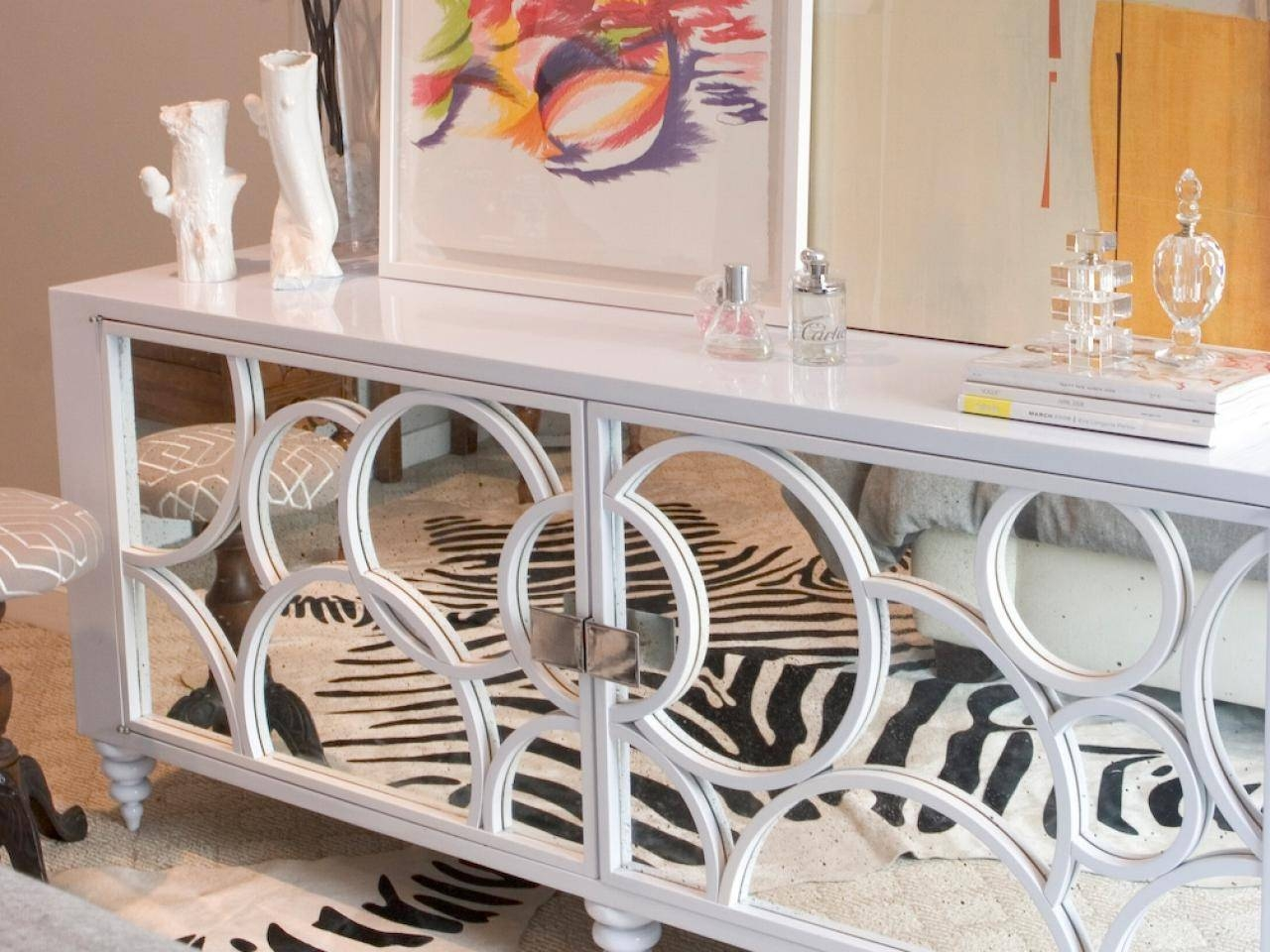 Mirrored Sideboards For A Master Bedroom Decor Throughout Mirror Sideboards (View 14 of 15)