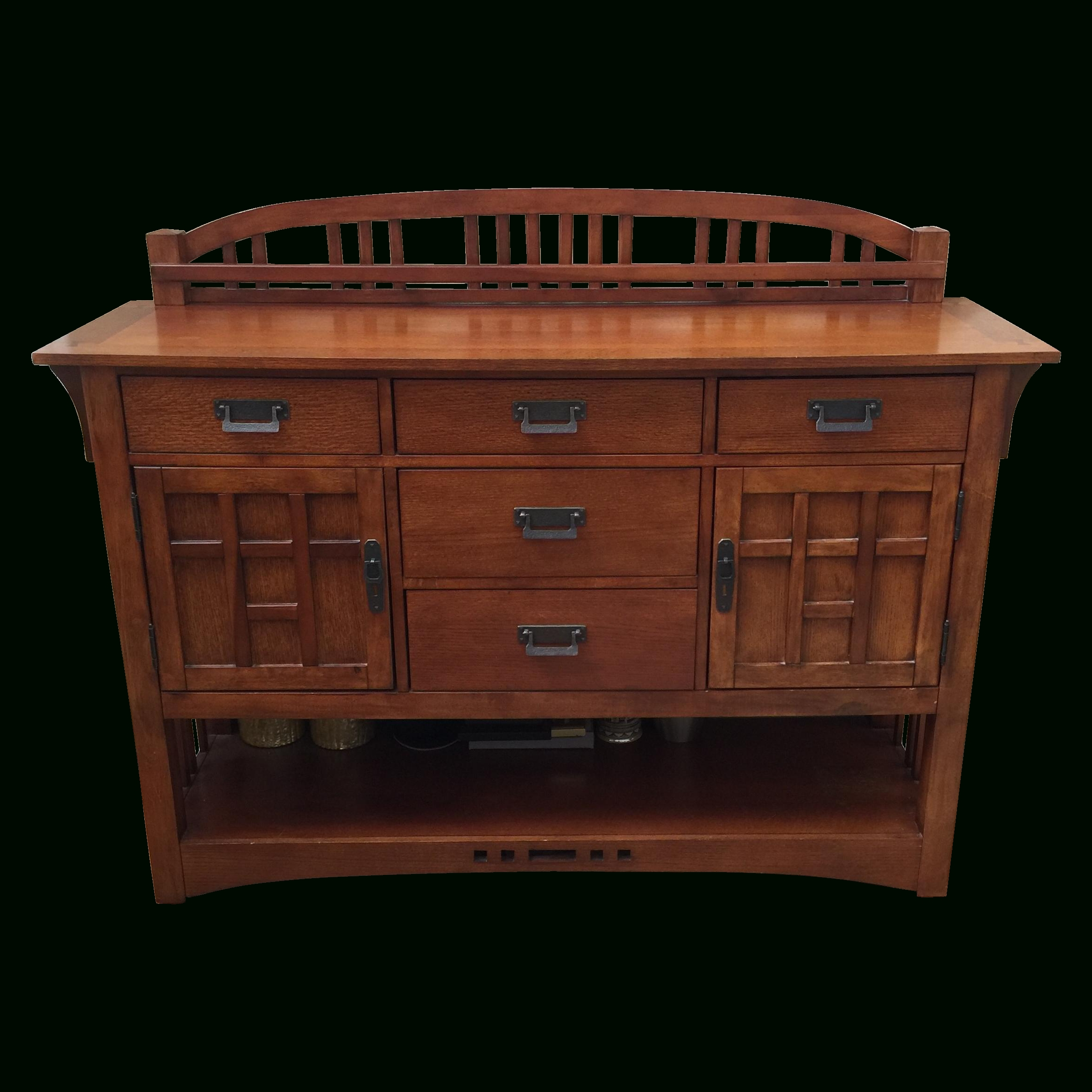 Mission Style Sideboard Unique With Broyhill Mission Style Buffet intended for Mission Style Sideboards (Image 11 of 15)