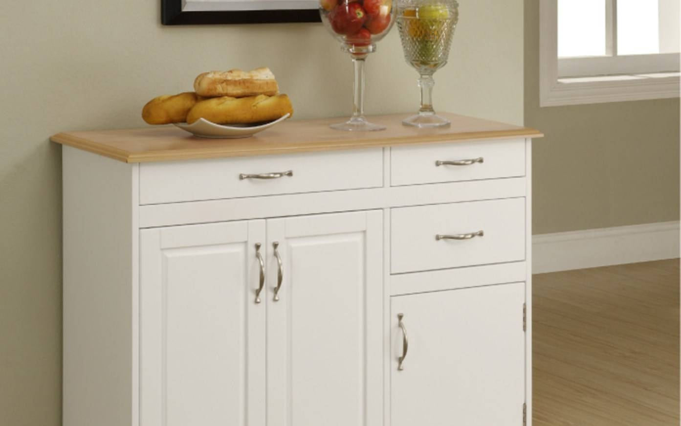 Modern Sideboard Buffet With Glass Doors Tags : Sideboard Tables With Narrow Kitchen Sideboards (View 3 of 15)