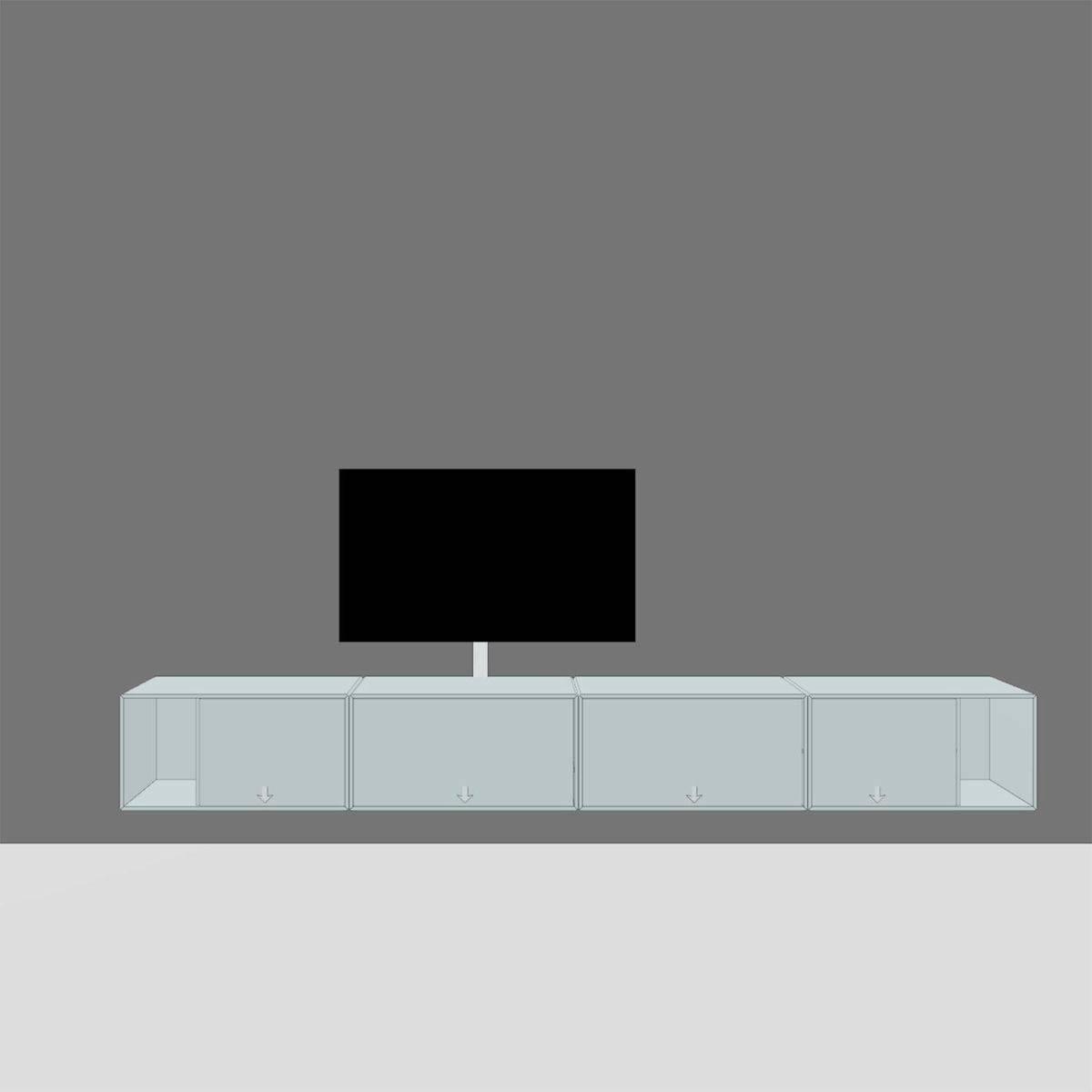 Montana Tv Hi-Fi Lowboard | Montana | Ambientedirect with Montana Sideboards (Image 6 of 15)