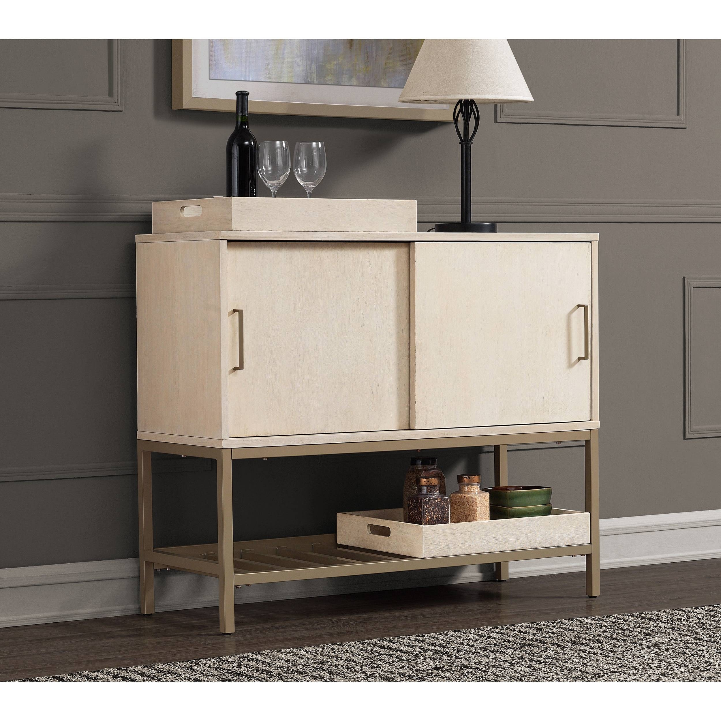 Moonlight 42-Inch Buffet - Free Shipping Today - Overstock throughout 42 Inch Sideboards (Image 9 of 15)