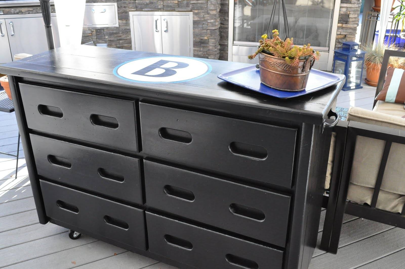 My New Outdoor Buffet Table | Organizing Made Fun: My New Outdoor With Outdoor Sideboard Tables (View 12 of 15)