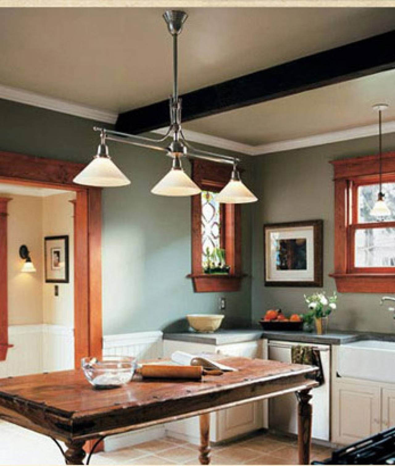 Nice Looking Millennium Lighting Manchester 3 Light Kitchen For 3 Pendant Lights For Kitchen Island (Photo 3 of 15)